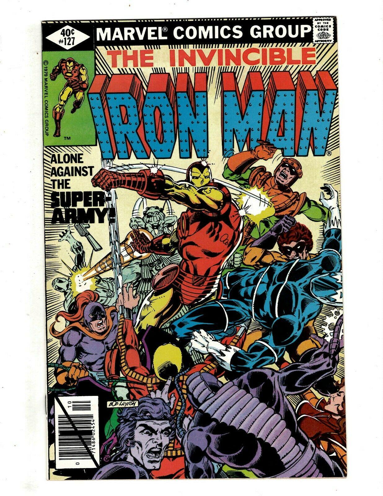 10 Iron Man Marvel Comics # 127 134 135 136 137 138 139 140 141 142 Stark J451