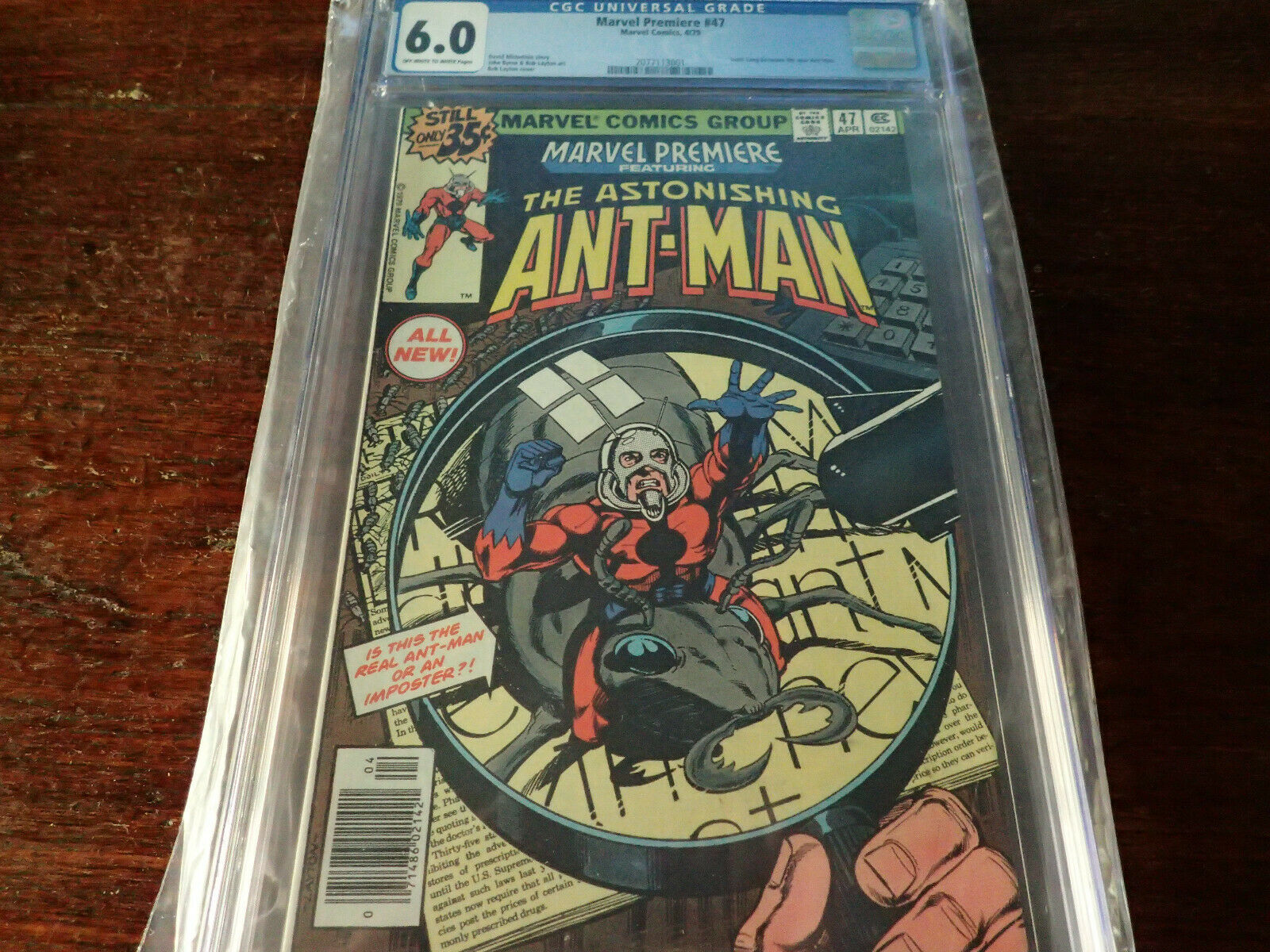 Marvel Premiere #47 CGC 6.0 FN 4/79 Scott Lang becomes the new Ant Man Avengers