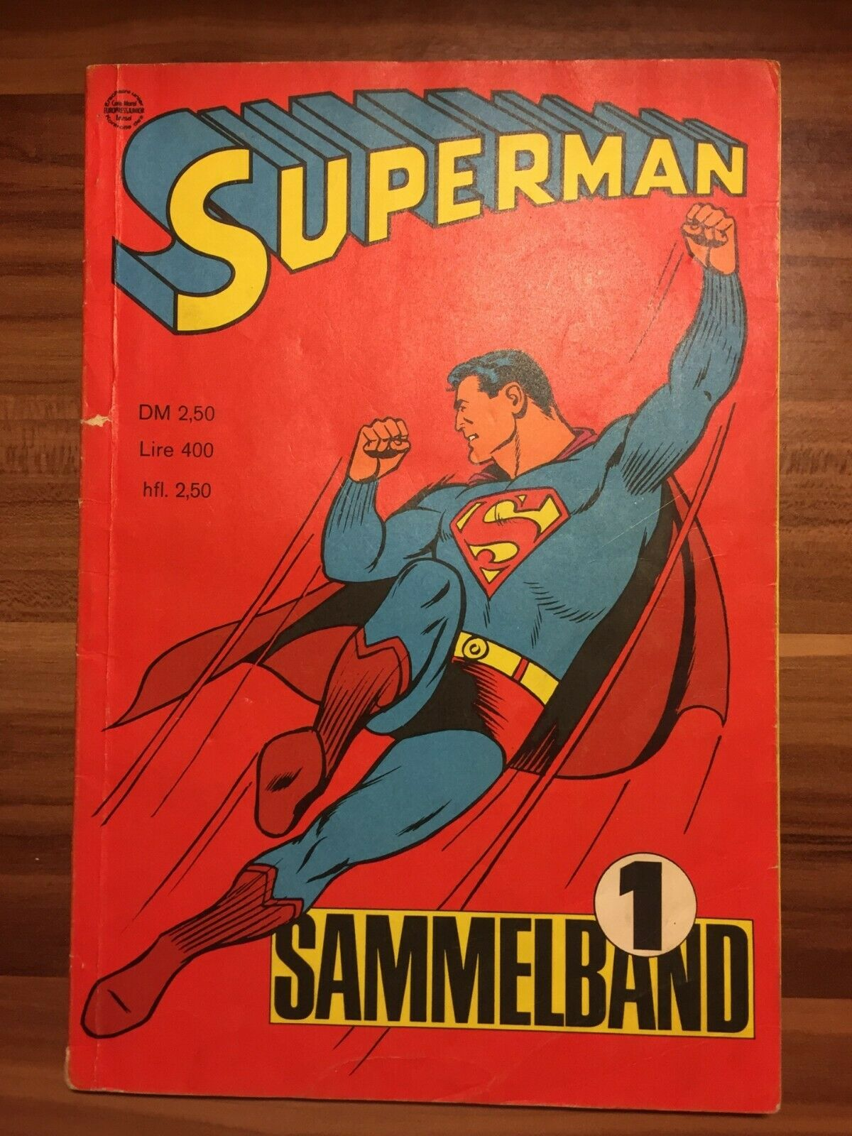 Superman Batman Ehapa Heft 1-4 1966 in Sammelband TOP Zustand 1, Umschlag Z 1-2