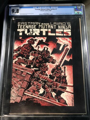 Teenage Mutant Ninja Turtles 1 CGC 9.8 Mirage 1984 (1st Print) TMNT 2081174001