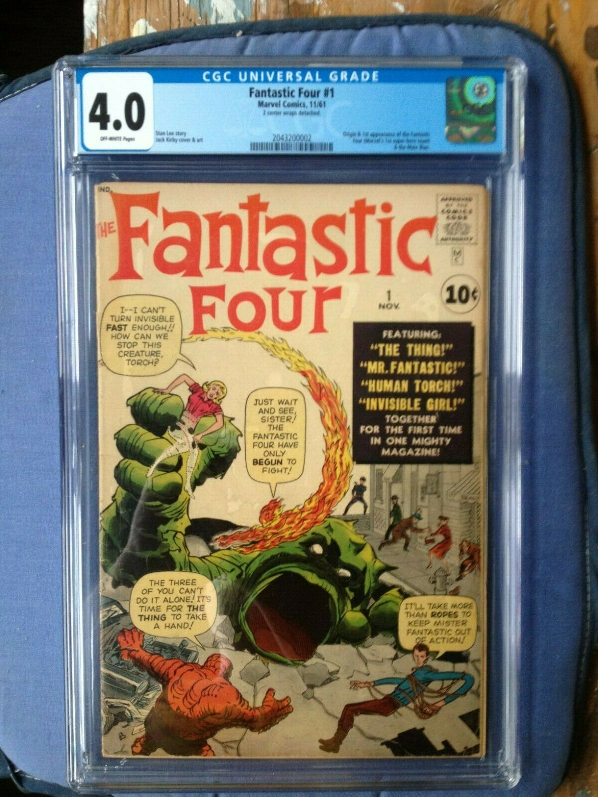 Fantastic Four #1 CGC 4.0  Universal - First Appearance of the FF  Marvel Key