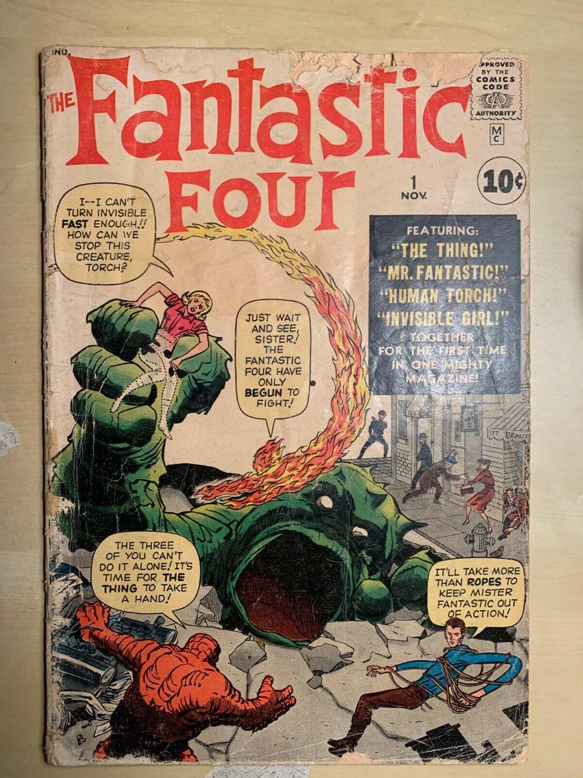 Fantastic Four #1 Stan Lee 1st app. Fantastic Four