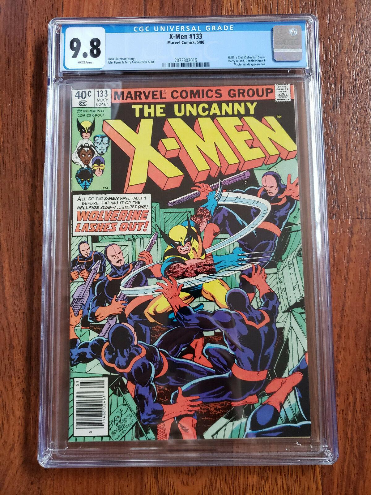 Marvel Uncanny X-MEN #133 CGC 9.8 White Pages Hellfire Club Claremont Byrne NM
