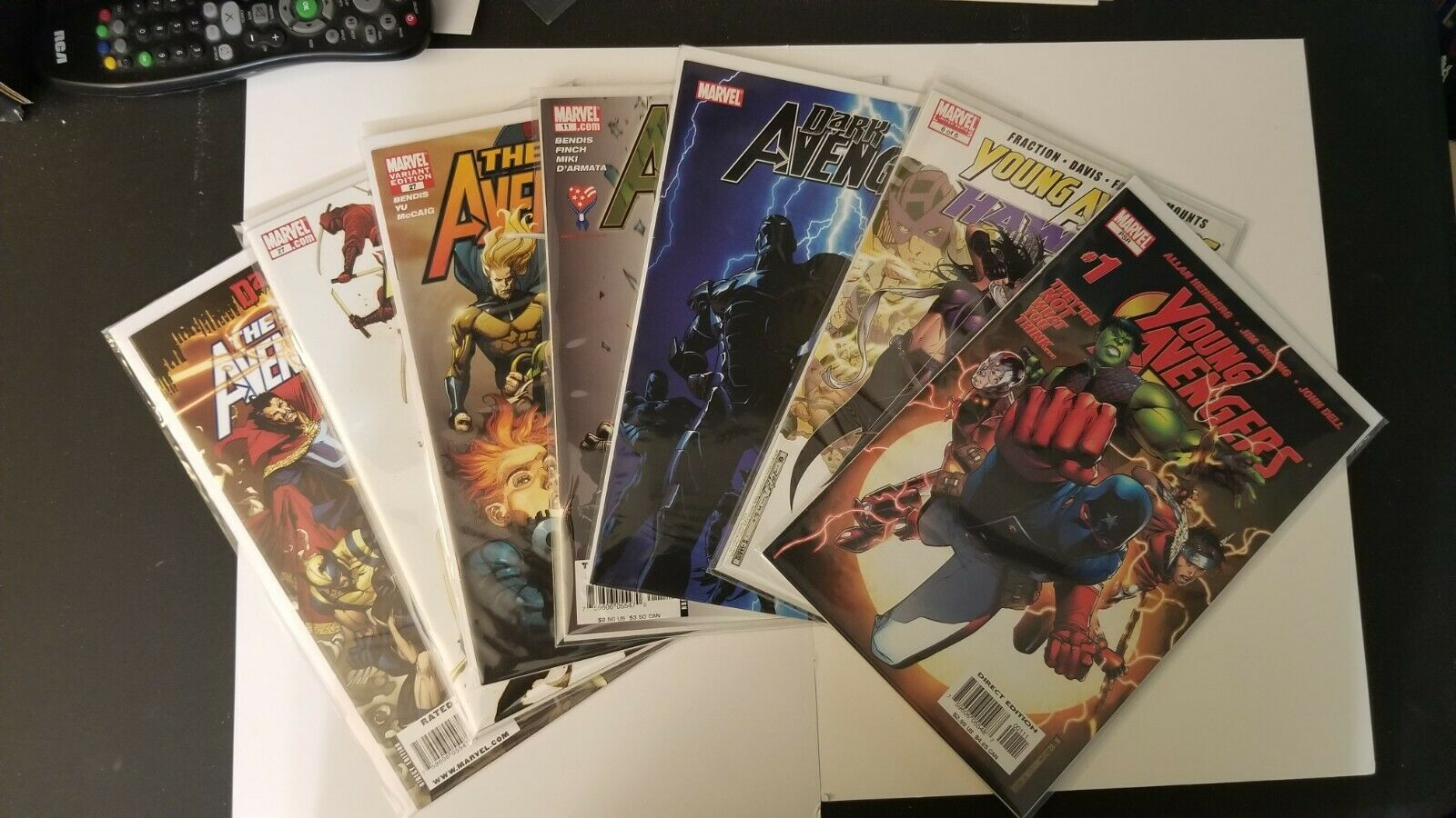 Avengers Key Lot New Avengers 11,27,53 Young Avengers 1,6 Dark Avengers 1 NM