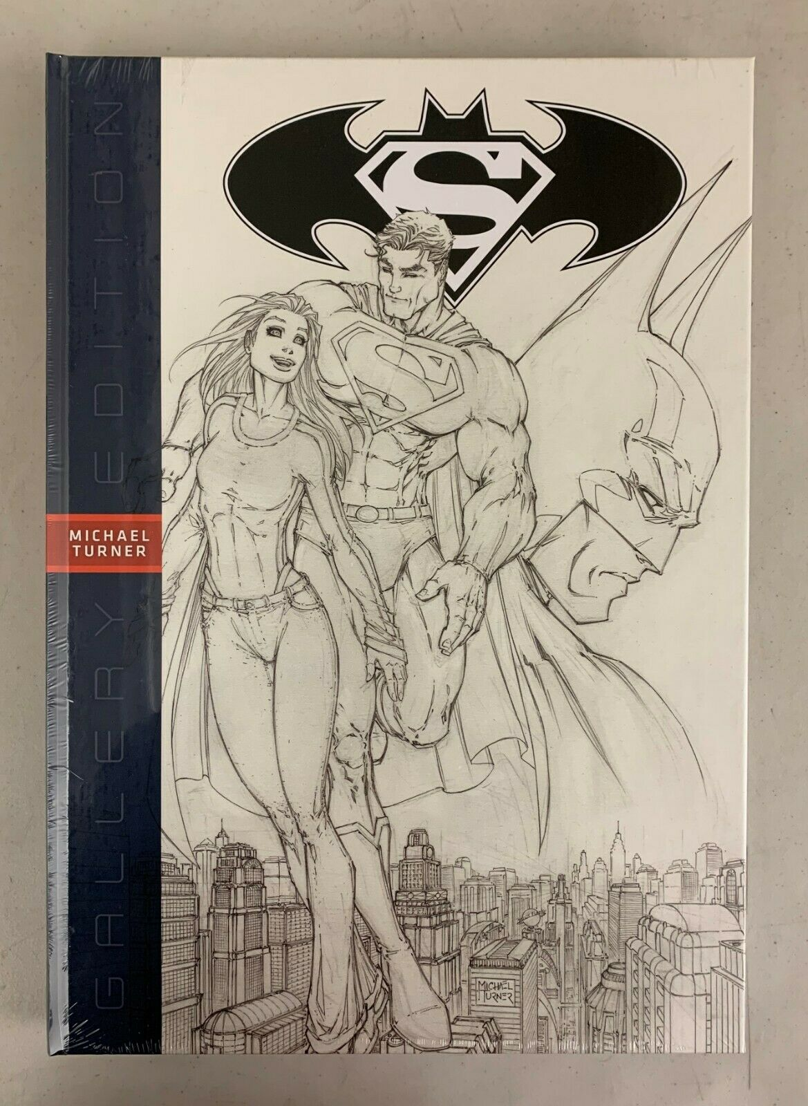 DC Superman Batman Michael Turner Gallery Edition HC SEALED ORIGINAL PACKAGE