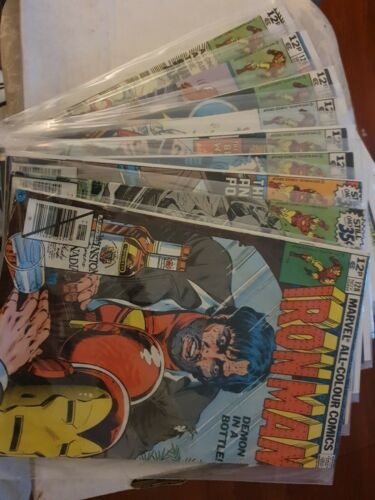 Iron Man Demon in a Bottle Storyline (Issues 120-128)