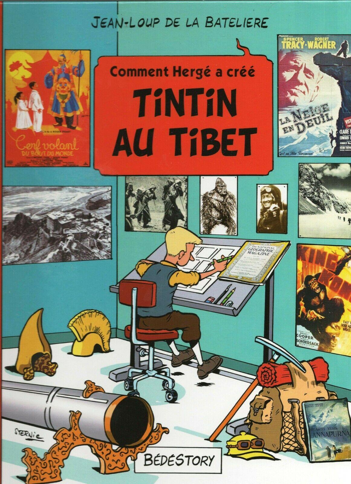 Comment Hergé a créé n°19. TINTIN AU TIBET. Bédestory 2017. Inédit. LIVRE NEUF