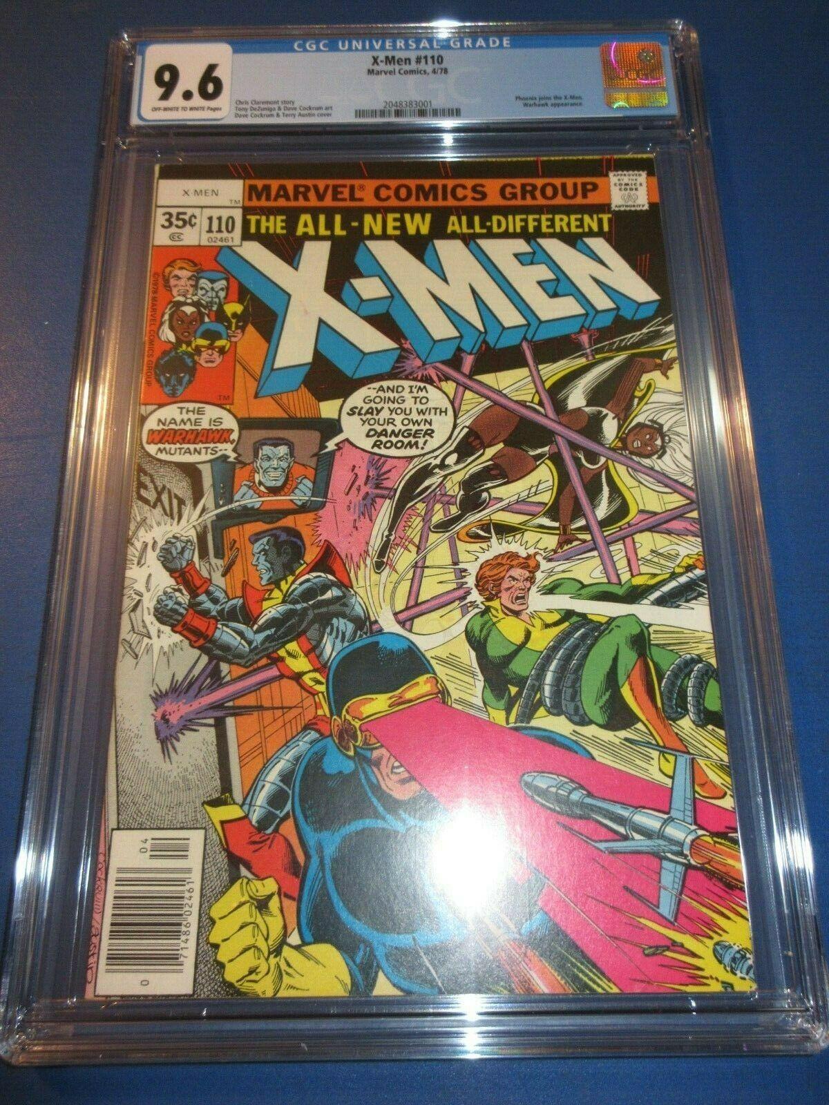 Uncanny X-men #110 Bronze age 1st Mr. Sinister/Warhawk CGC 9.6 NM+ Gem Wow