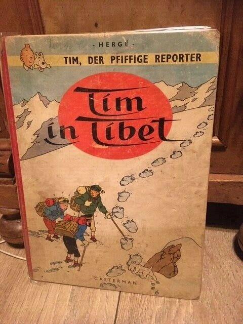 Tim der pfiffige Reporter Casterman Tim in Tibet Tintin