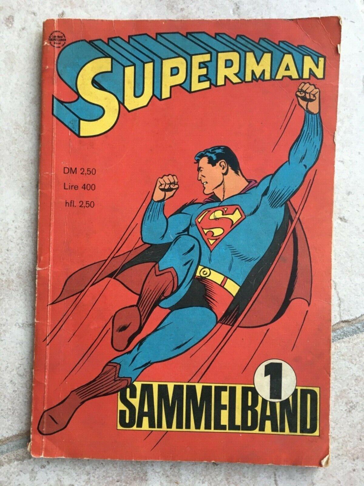 Superman 1966 Nr. 1-4 Sammelband   Original  R-22