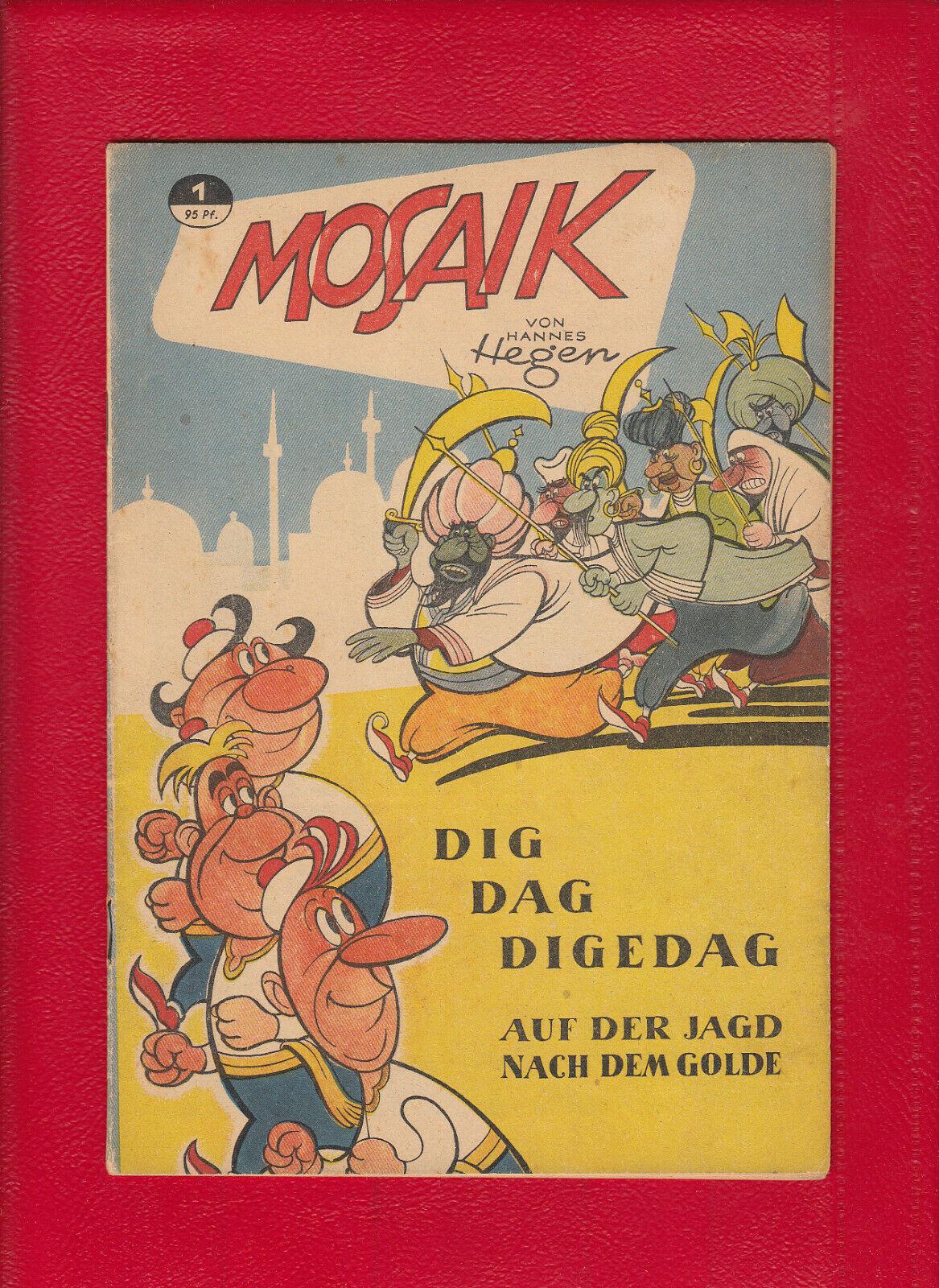 Mosaik 1 Mosaiksammlung Digedags Hannes Hegen Dig Dag Digedag