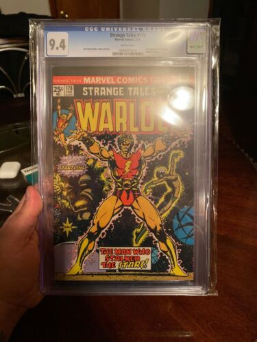 Strange Tales # 178 CGC 9.4 OW/W (Marvel, 1975) 1st appearance Magus