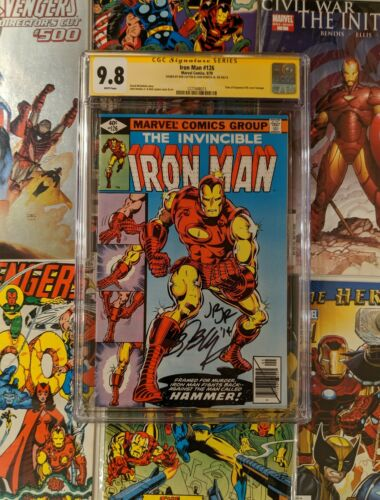 Iron Man 126 CGC 9.8 Signed Bob Layton & John Romita Jr. Classic Cover Homage