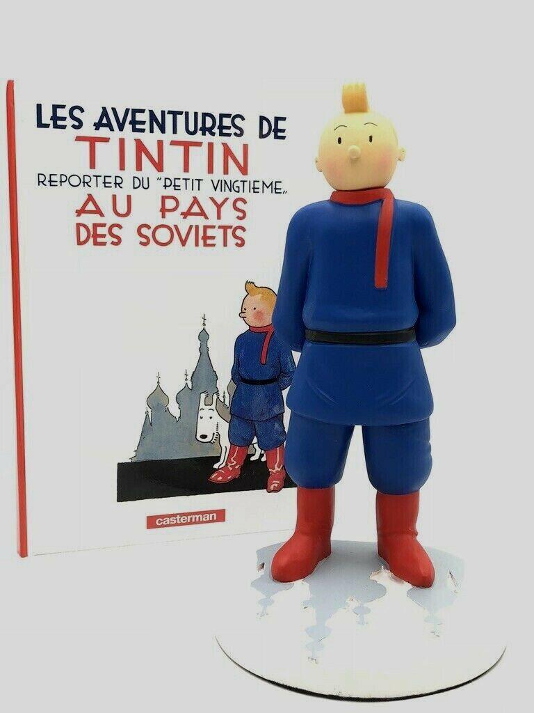 Tintin au pays des soviets  29 cm St Emett No Leblon Pixi Fariboles comme neuf