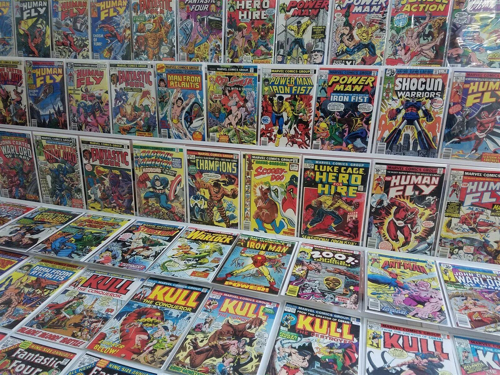 100 All HI GRADE Avg 9.2 Marvel Bronze Lot Luke Cage 1 48 50 Iron Man 47 Cap 193