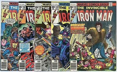 Iron Man #101 - 117  Complete Run  avg. VF/NM 9.0  Marvel  1977  No Reserve