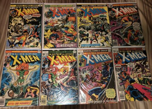 Uncanny X-Men 94 95 96 99 101 105 106 110 (8 Issue lot run collection)