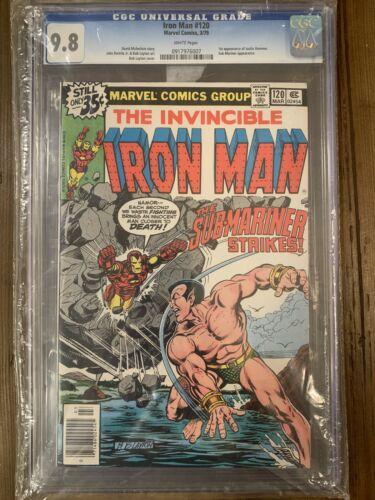 Iron Man 120 CGC 9.8 First Appearance Justin Hammer Sub-Mariner Namor Cover MCU