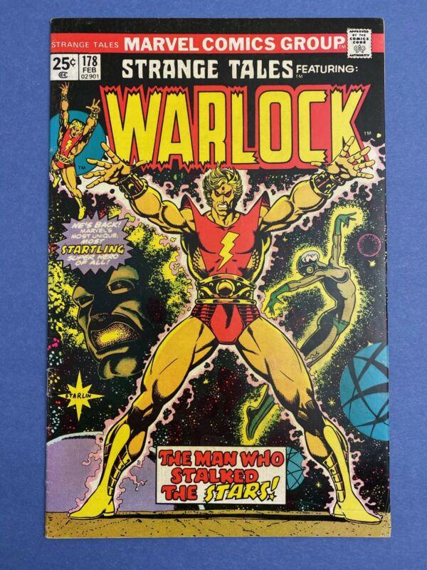 Marvel STRANGE TALES #178 Comic Book 1st MAGUS Origin Adam Warlock FN/VF 1975