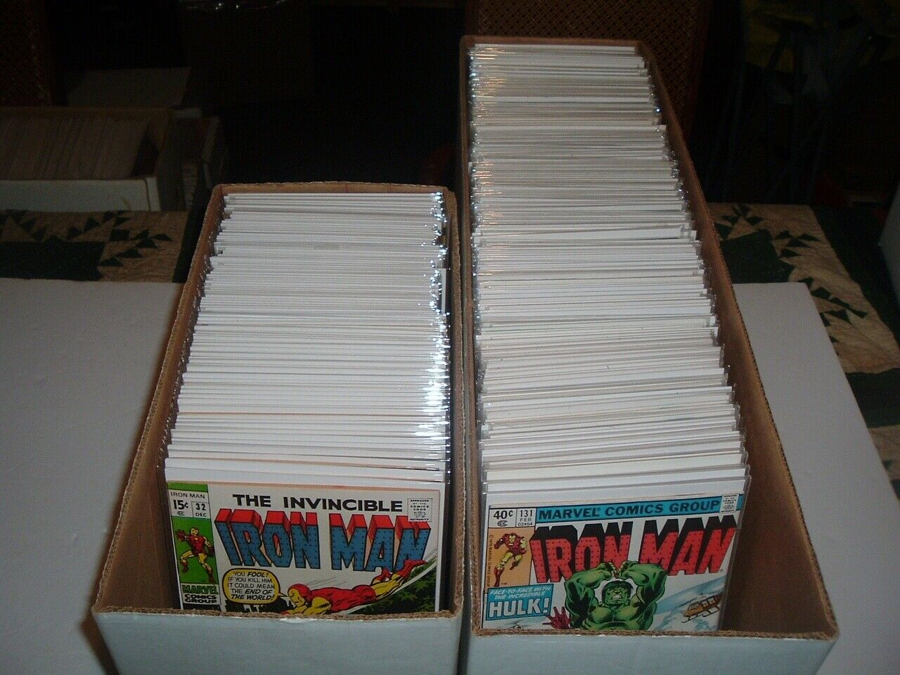 Lot of 300 Iron Man Comics #s 32-332 All in Hi-Grade 9.0 to 9.6 Plus Annuals
