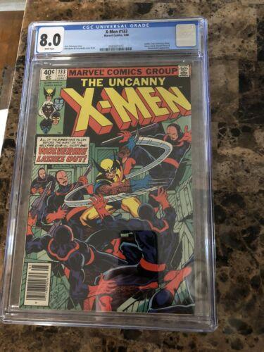 Uncanny X-Men #133, CGC VF 8.0, 1st Wolverine Solo Cover