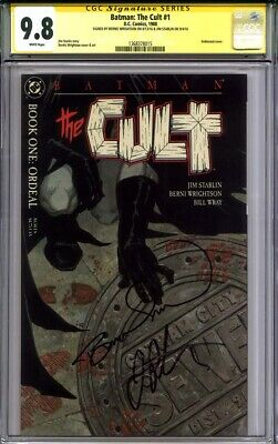 BATMAN THE CULT #1 CGC 9.8 BERNIE WRIGHTSON & JIM STARLIN uncirculated file copy