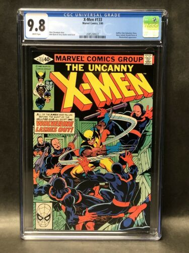 UNCANNY X-MEN 133 CGC 9.8 NM/MT WHITE PAGE MINT WOLVERINE '80 BYRNE