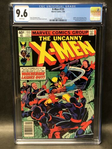 UNCANNY X-MEN 133 CGC 9.6 NM+ WHITE PAGE WOLVERINE '80 BYRNE