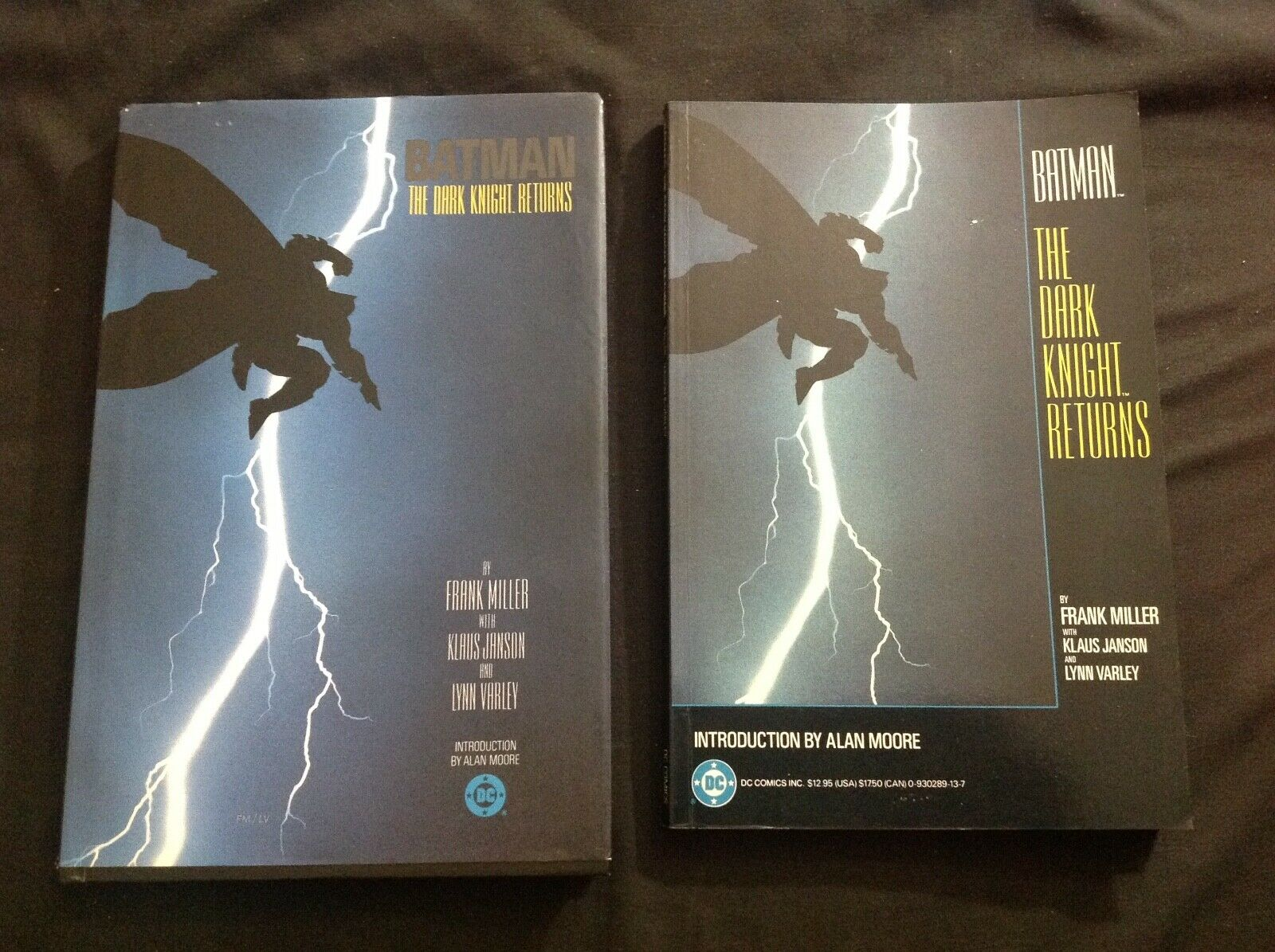 Batman:The Dark Knight Returns TPB FIRST PRINT Hardcover AND Softcover 7th Print
