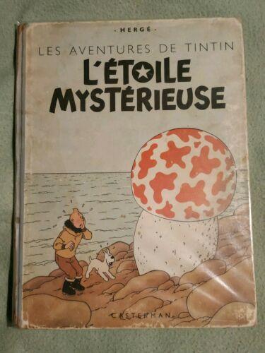 Tintin l'étoile mystérieuse B1 1946