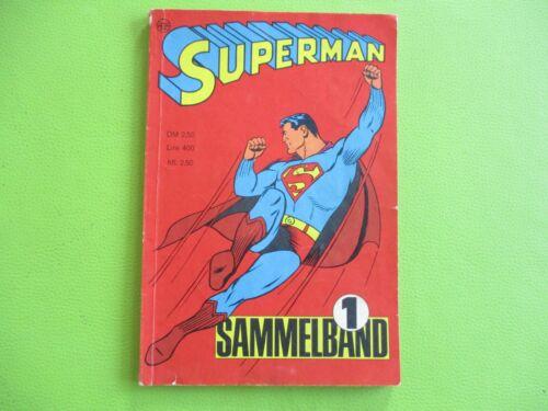 Superman Sammelband 1 1966 heft 1,2,3,4  Ehapa Verlag