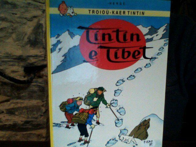 A (T13)  HERGE TINTIN - TINTIN E TIBET - EO BRETON