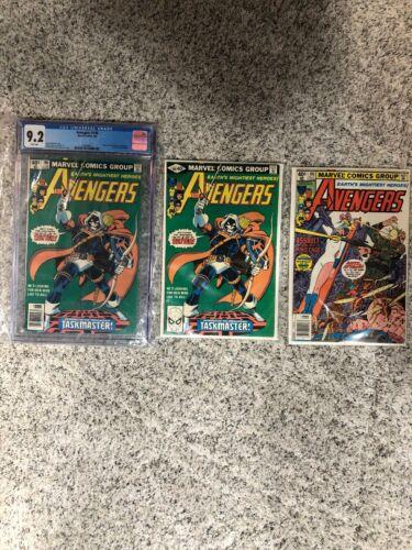 Avengers 196 CGC 9.2 White + Avengers 196 Non Graded + Avengers 195 See Descript