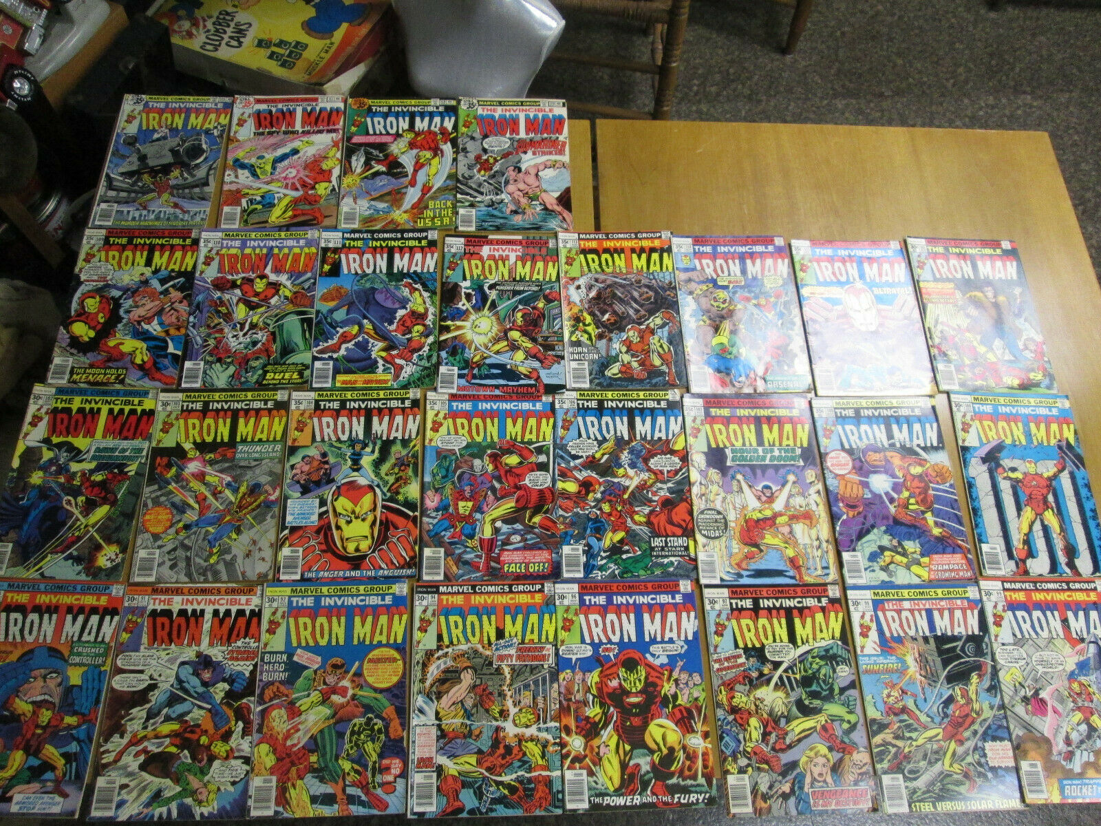 LOT OF 28  IRON MAN #90#91#92#943#96#97#98#99#100#101#102#103#104#105#106+MORE