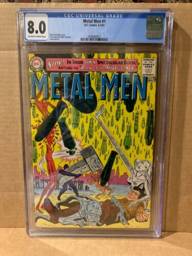 Metal Men #1 - 1st in their own book - Ross Andru / Mike Esposito CGC 8.0- 1963