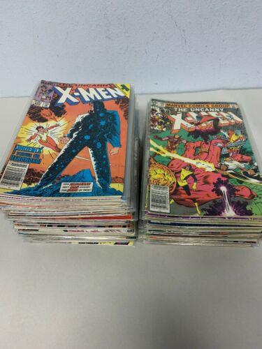 Lot of 110  Uncanny X-Men - Marvel Comics Run #160-271 Missing 202 (1982-1989)