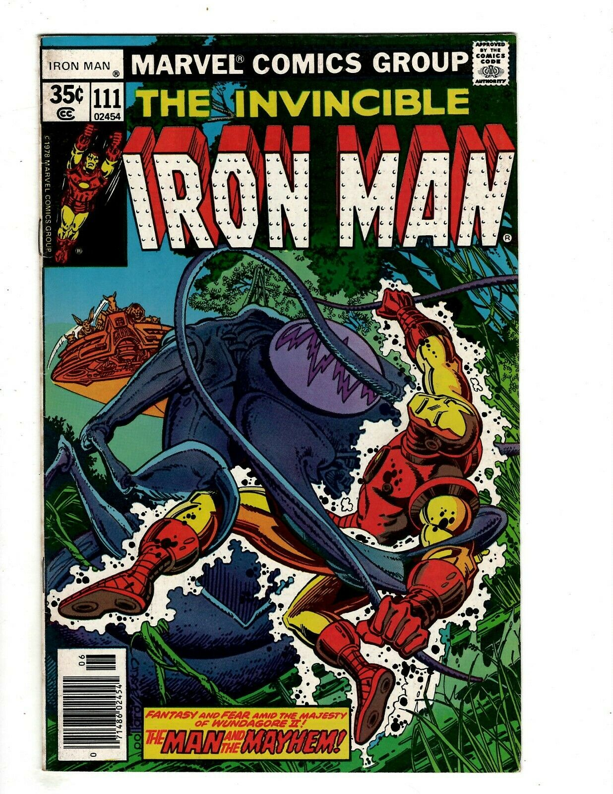 12 Iron Man Marvel Comics # 111 112 113 114 115 116 117 119 120 121 122 123 RB2