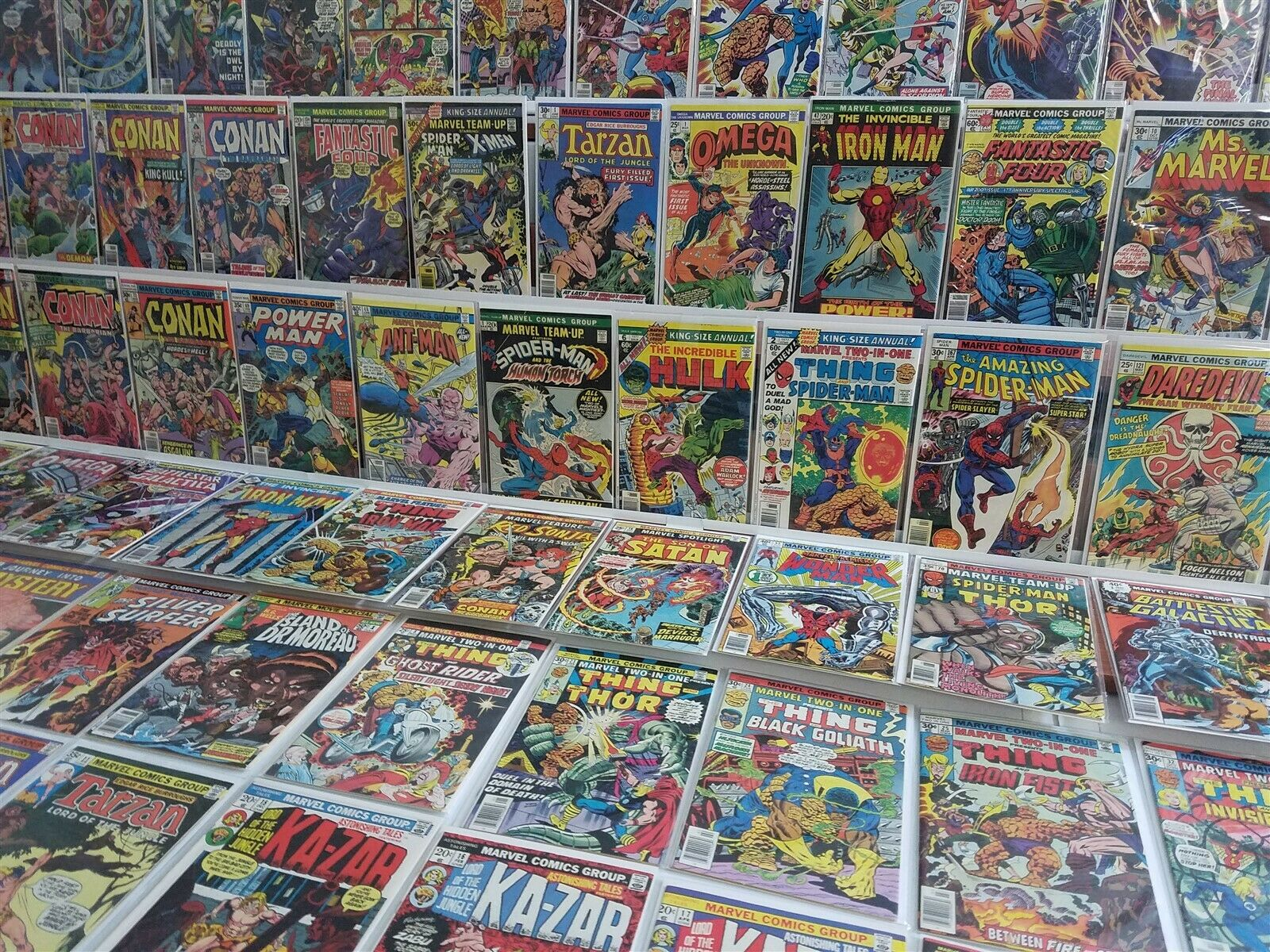 100 HI GRADE Marvel Bronze Lot Two-in-One Annual 2 Team-Up 1 Iron Man 47
