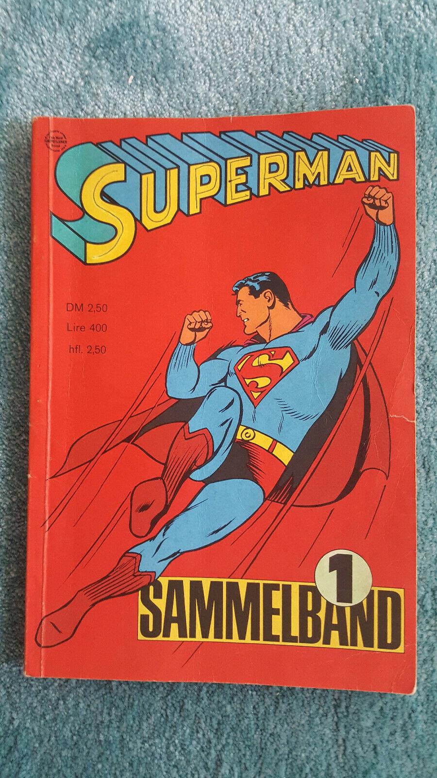 Superman Sammelband #1 Ehapa Hefte 1-4/1966