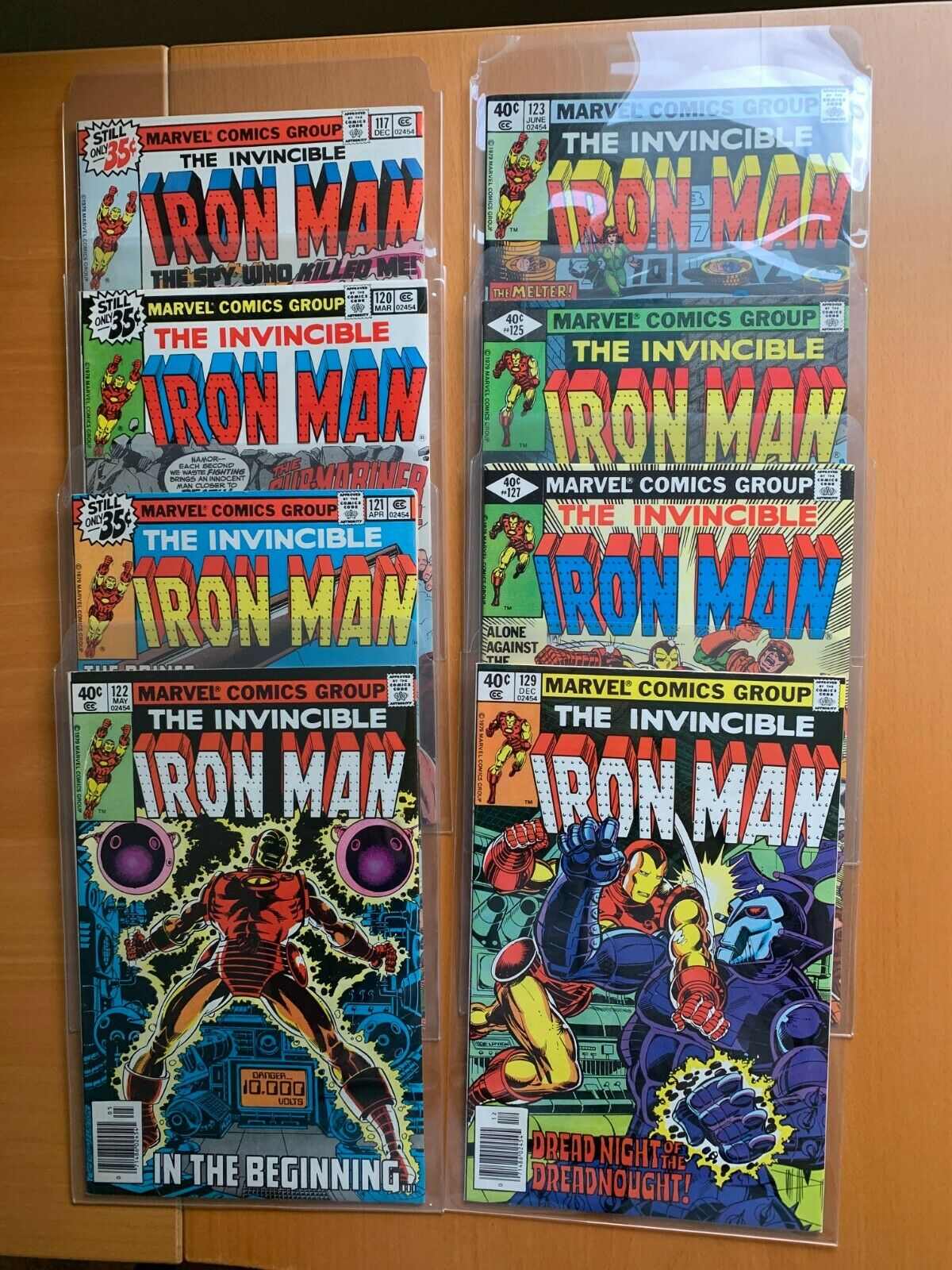 Iron Man lot of 33: 117 120 121 122 123 125 127 129 130 131 132 133 and more