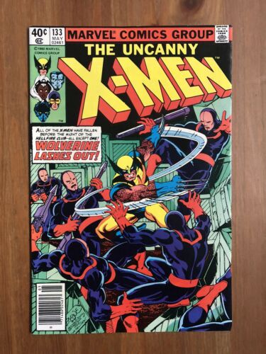 """The Uncanny X-Men #133 """"Wolverine Lashes Out"""""""