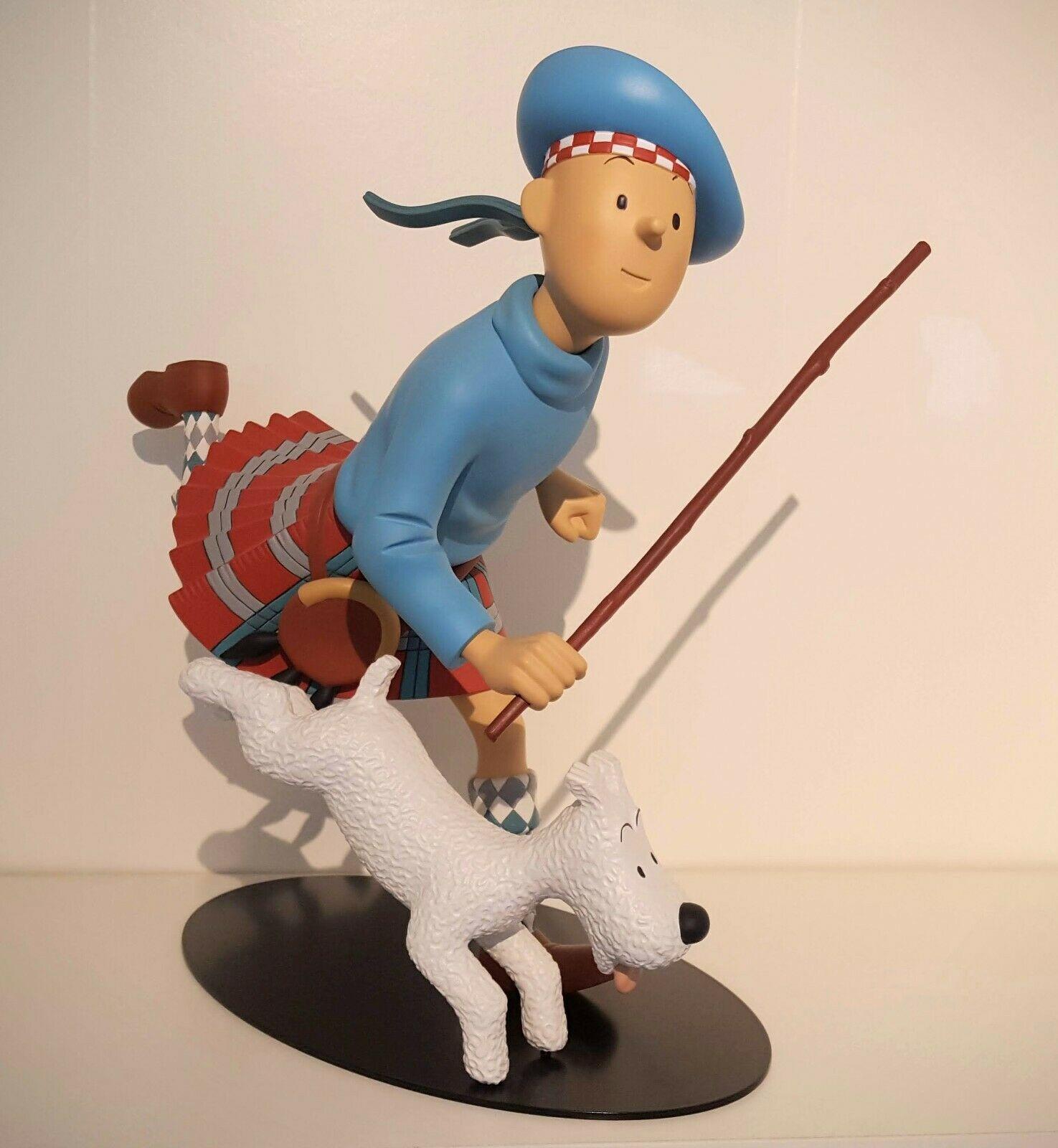 Tintin Ecossais - 32 cm - Leblon Delienne 2007 - wie neu - lim. auf 777 Stück