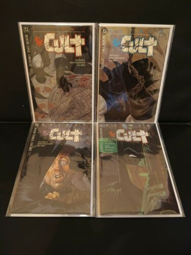 Batman The Cult #1 2 3 4 All signed by artist Bernie Wrightson, All NM #1-4