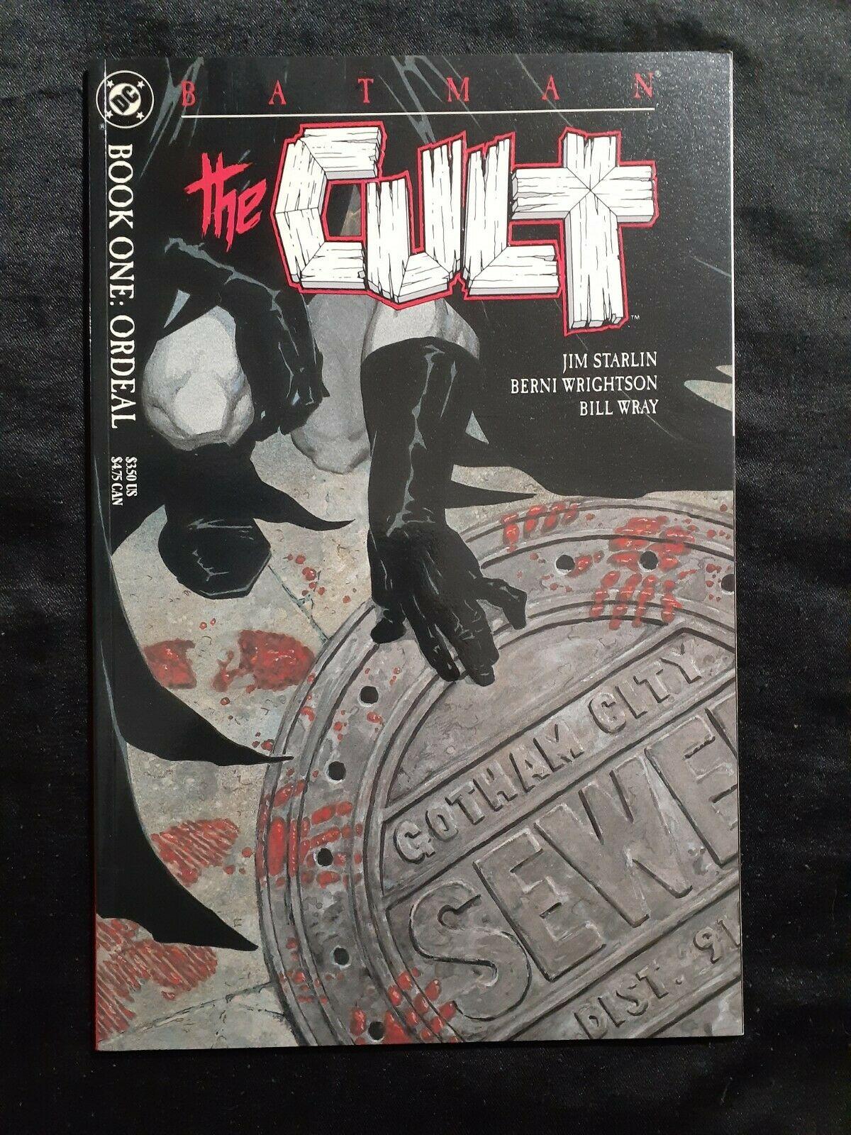 """batman comics """"The Cult"""" 1-4 NM condition. Never been read."""