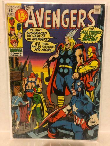 Avengers 9 Comic Lot 92 93 95 96 101 135 159 160 178 Marvel Thor Iron Man Vision
