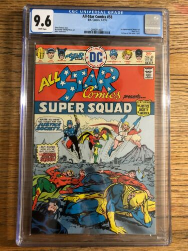 All-Star Comics #58 CGC 9.6 w/White Pages
