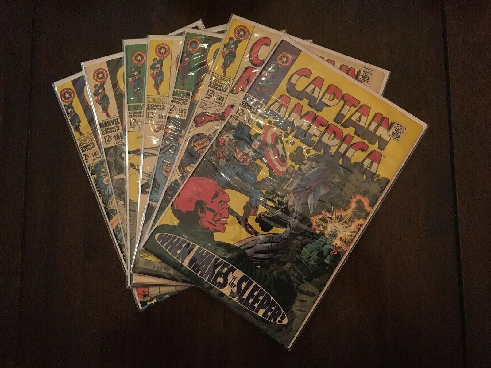 Captain America #101-116, 118-124 Beautiful Lot