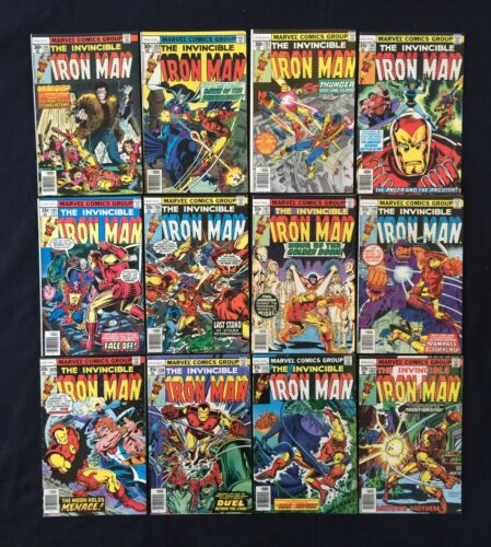 Complete Full Run Iron Man #101-149