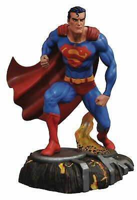 "SUPERMAN GALLERY 10"" PVC FIGURE / STATUE Warner Bros DC Diamond Select 2018 MIB"