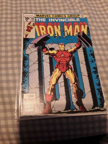 The Invincible Iron Man #100 NM- 9.2